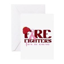 Fighters For A Cure Greeting Cards