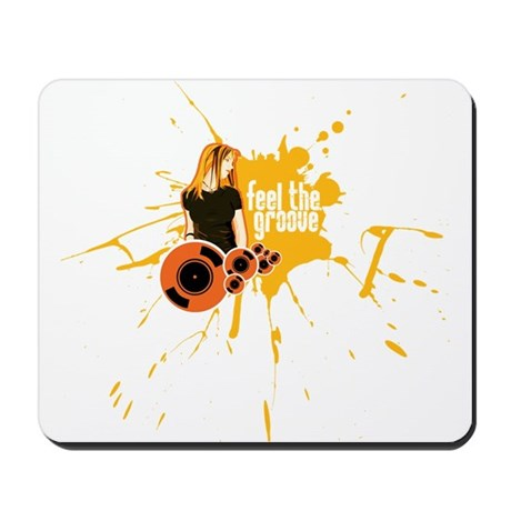 Feel The Groove Mousepad