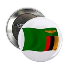 "Zambia Flag 2.25"" Button (100 pack)"
