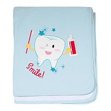 Smile! baby blanket