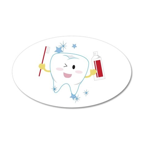 Tooth & Paste Wall Decal