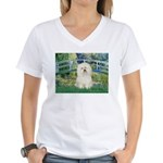 Bridge & Bolognese Women's V-Neck T-Shirt