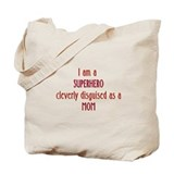 Superhero Mom Tote Bag