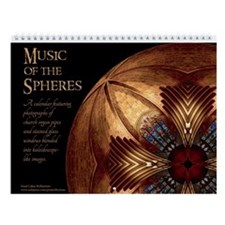 Music Of The Spheres Wall Calendar