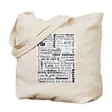 Ballet Collage Tote Bag