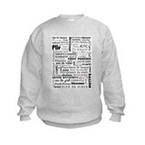 Ballet Collage Sweatshirt
