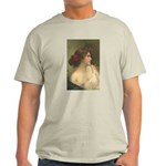 Victorian Woman Romantic Art Light T-Shirt