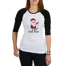 Hockey Santa Christmas Baseball Jersey