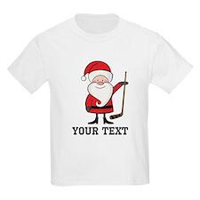 Hockey Santa Christmas T-Shirt
