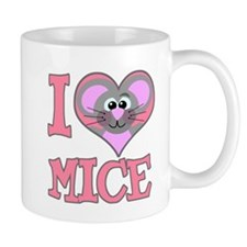 I Love (Heart) Mice Mug