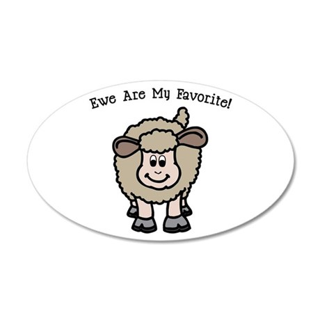 Ewe Are My Favorite! Wall Decal