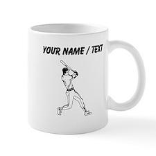 Custom Baseball Batter Mugs