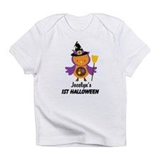 1st Halloween baby witch owl Infant T-Shirt