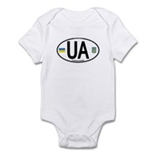 Ukraine Intl Oval Infant Bodysuit