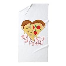 Piece of My Heart Beach Towel