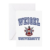 WEIGEL University Greeting Cards (Pk of 10)