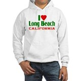I Love Long Beach, California Hoodie