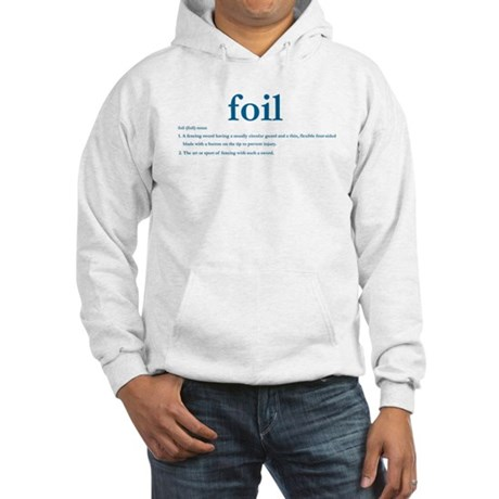 Foil Definition Hooded Sweatshirt