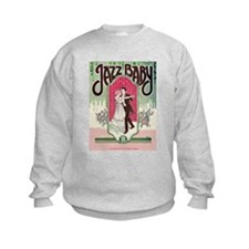 Jazz Couple 1920s Flapper Dancing Sweatshirt