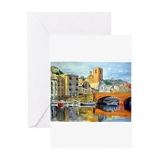 bosa2 Greeting Cards