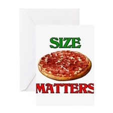 Size Matters Greeting Cards