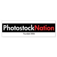 Photostock Nation Bumper Bumper Sticker