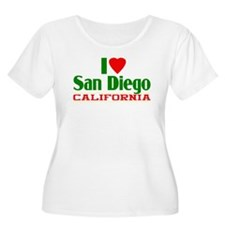 I Love San Diego, California T-Shirt