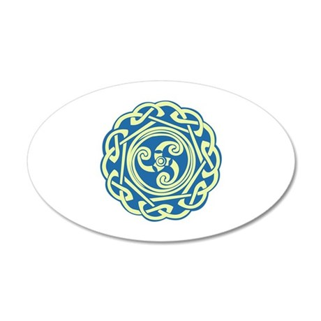 Celtic Spiral Wall Decal