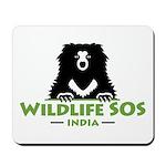 Wildlife SOS Mousepad