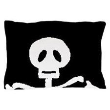 Skeleton Bones Halloween Pillow Case
