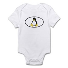 Tux Oval Infant Bodysuit