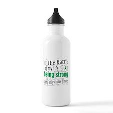 Liver Cancer Battle Water Bottle