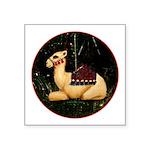 Christmas Square Sticker 3