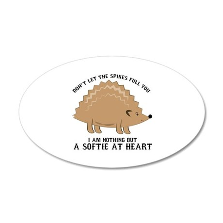 Softie at Heart Wall Decal