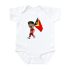 3D East Timor Infant Bodysuit