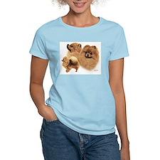 Pomeranian Multi T-Shirt