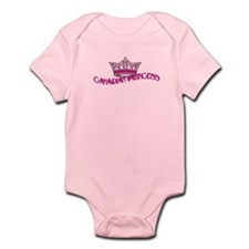 Canadian Princess Crown Infant Bodysuit