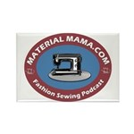 Material Mama Podcast Rectangle Magnet