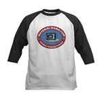 Material Mama Podcast Kids Baseball Jersey