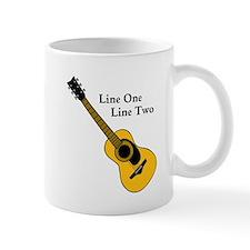 Custom Guitar Design Mugs