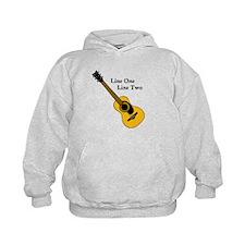 Custom Guitar Design Hoodie