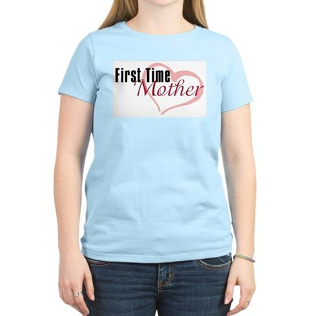 First Time Mom Women's Light T-Shirt