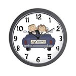 Just Married Wedding Clock