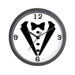 Tux Wedding Clock