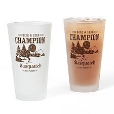 Hide & Seek Champion Sasquatch Drinking Glass