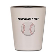 Custom Baseball Shot Glass