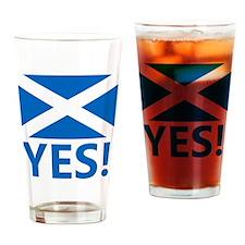 Scotland-YES Drinking Glass