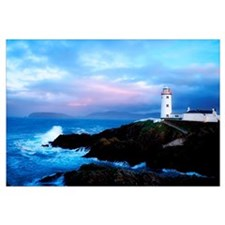 Lighthouse At Fanad Head, County Donegal, Ireland