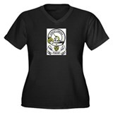 RAMSAY 2 Coat of Arms Women's Plus Size V-Neck Dar