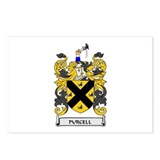 PURCELL Coat of Arms Postcards (Package of 8)
